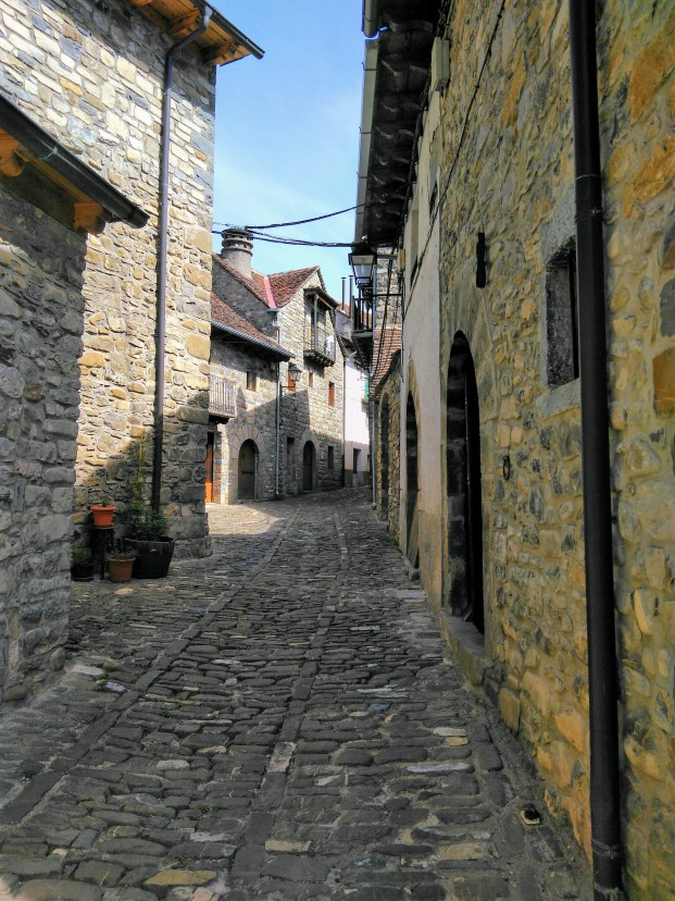 Gasse in Hecho