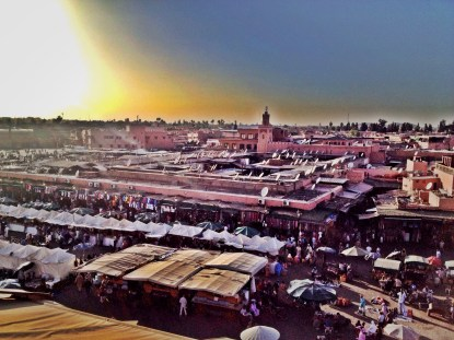 Djaama el-Fna in Marrakesh