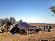 Zelt von Berber-Hirten