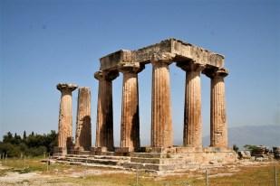 Hintere Säulen des Apollo-Tempels