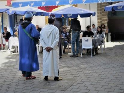 Musikanten vor Touristen