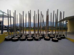 Winterlager Sonnenschirm-Ständer-Ständer