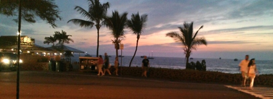 Abendliches Hawaii