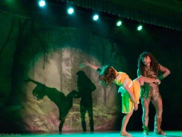 Eine Momentaufnahme von der großartigen Schlussshow der KaGe Grau-Blau