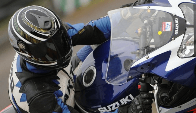 Motorcycle insurance garage clause