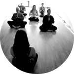Beck Forsland small group and corporate yoga classes