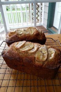 Banana Bread Mini Loaves made from Beck's Farm-Style Baking Mix