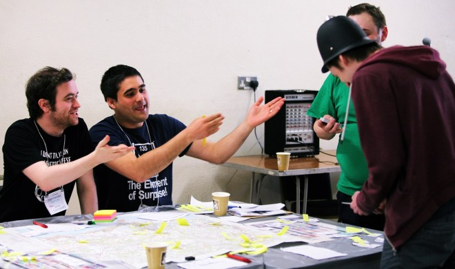 Silver Command at the Aftermath Megagame