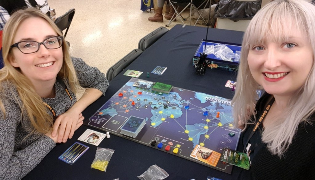 Waiting to play Pandemic - AireCon 2019 by BeckyBecky Blogs