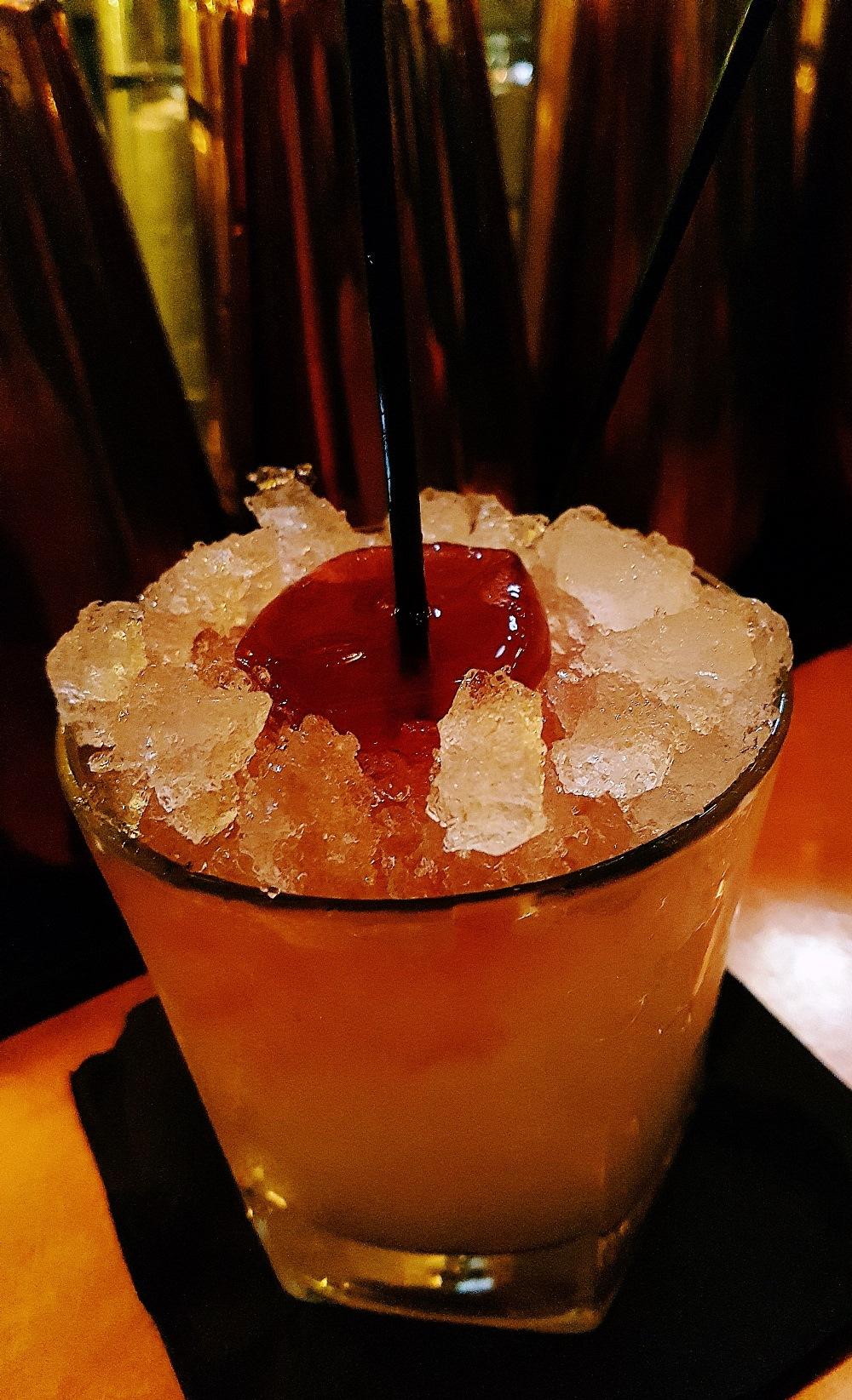 Ballbreaker cocktail at Alchemist Leeds Trinity