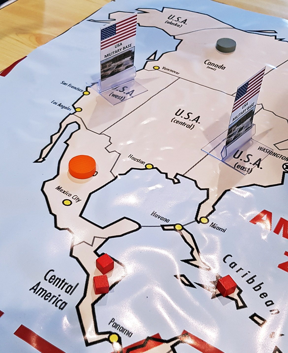 Alien bases in America - Arrival Megagame After Action Report by BeckyBecky Blogs