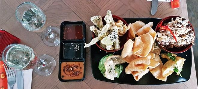 Starter Sharing Platter at Bar Soba in Leeds - Bottomless Lunch Review by BeckyBecky Blogs