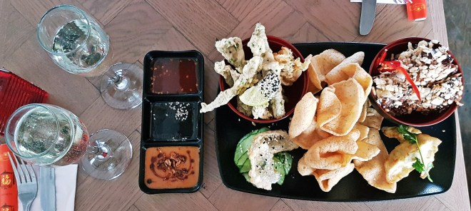 Starter Sharing Platter at Bar Soba in Leeds - Bottomless Lunch Review by BeckyBecky Blogs