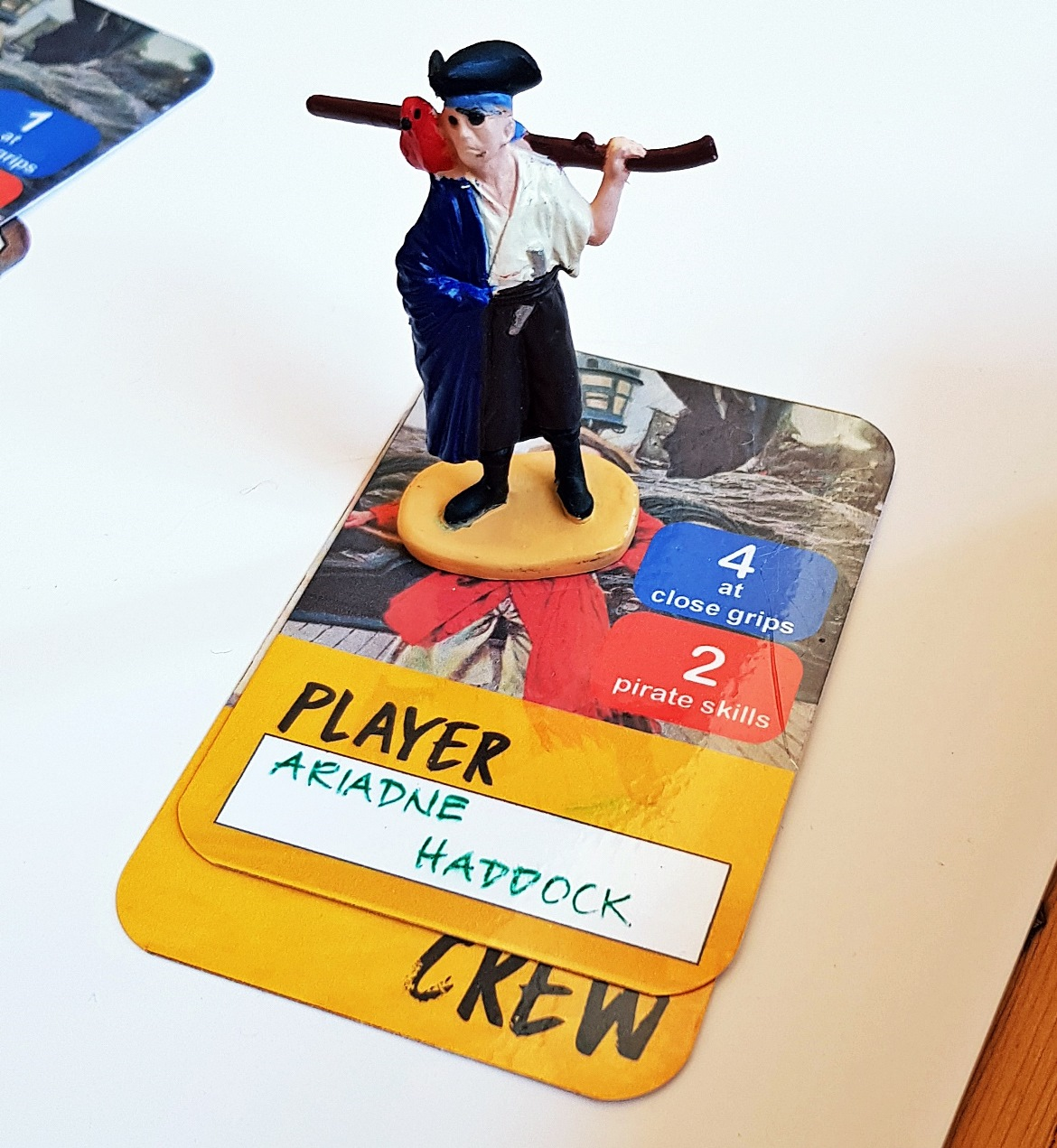 Captain Ariadne Haddock of Rackham's Ghost - Blood and Thunder Megagame After Action Report by BeckyBecky Blogs