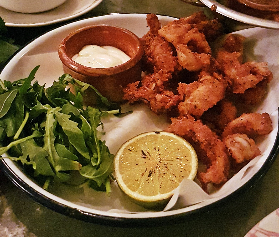 Calamari - Gin Masterclass at the Botanist Leeds, review by BeckyBecky Blogs
