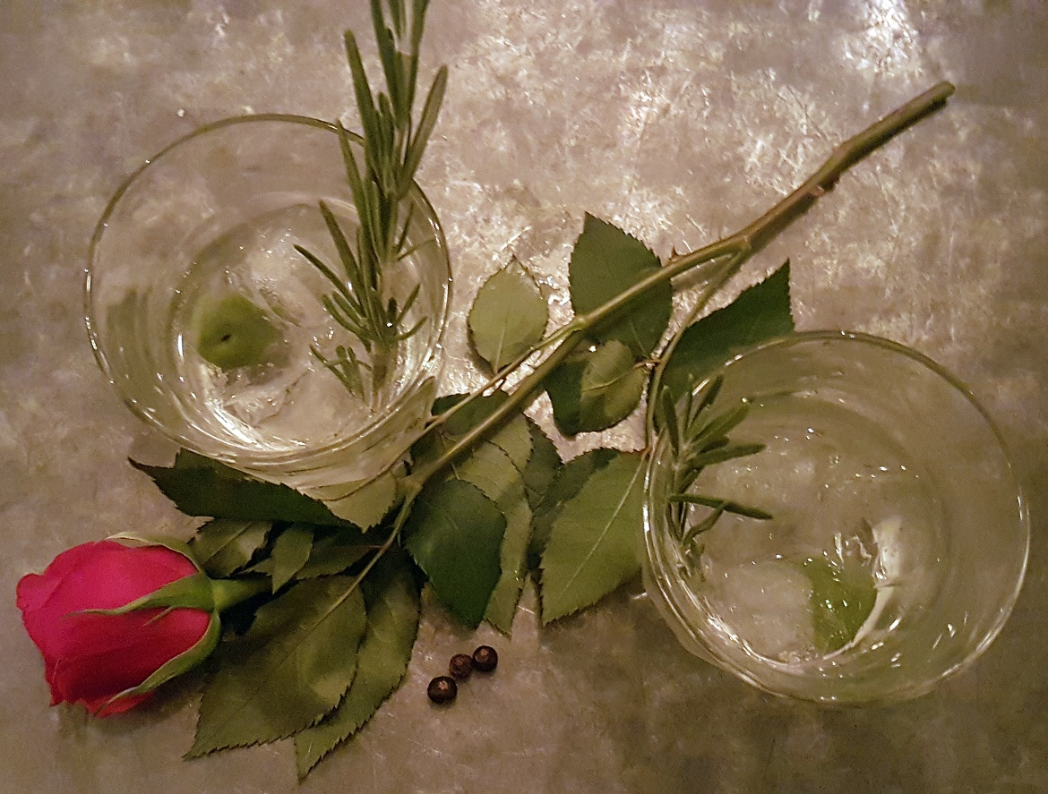 Gin Mare perfect serve at the Botanist Gin Master Class in Trinity Centre Leeds - August 2017 Recap by BeckyBecky Blogs
