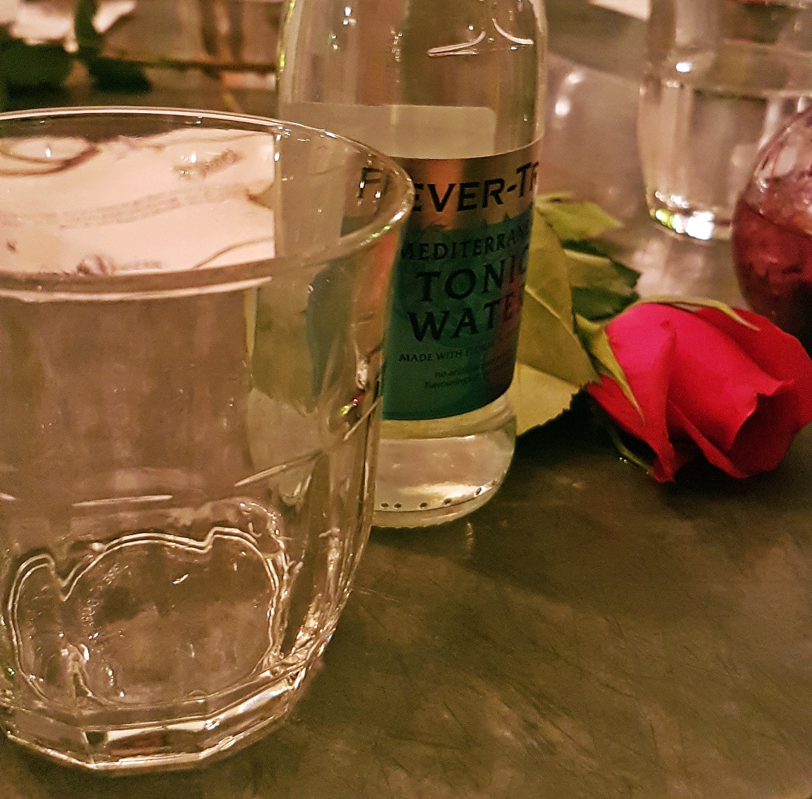 Fevertree Mediterranean tonic - Gin Masterclass at the Botanist Leeds, review by BeckyBecky Blogs