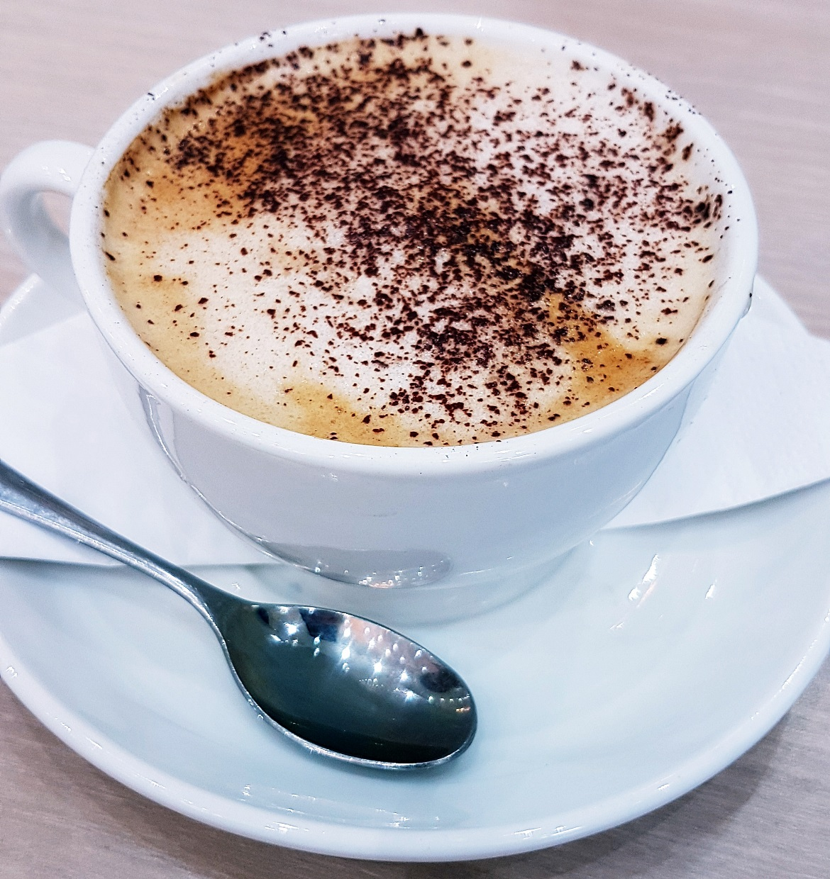 Cappuccino - Creams British Luxury Leeds Restaurant Review by BeckyBecky Blogs