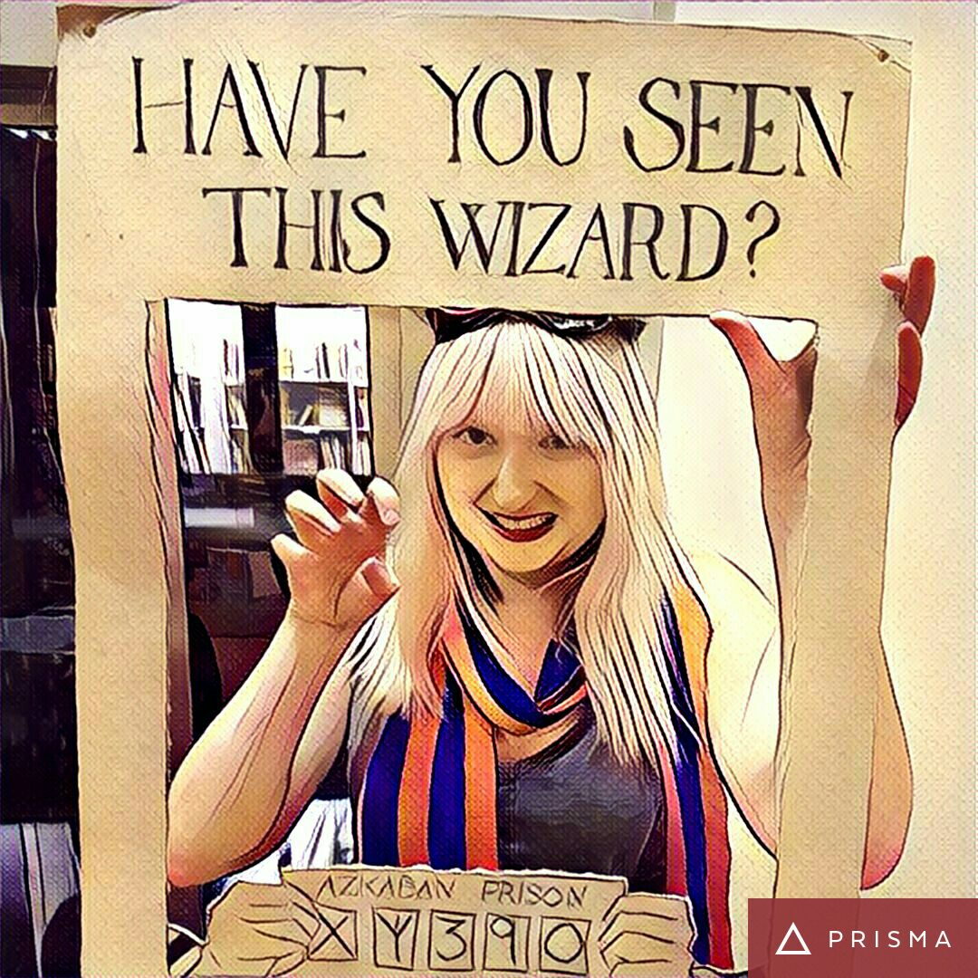 Have You Seen This Wizard at Cursed Child Book Launch at Waterstones Leeds