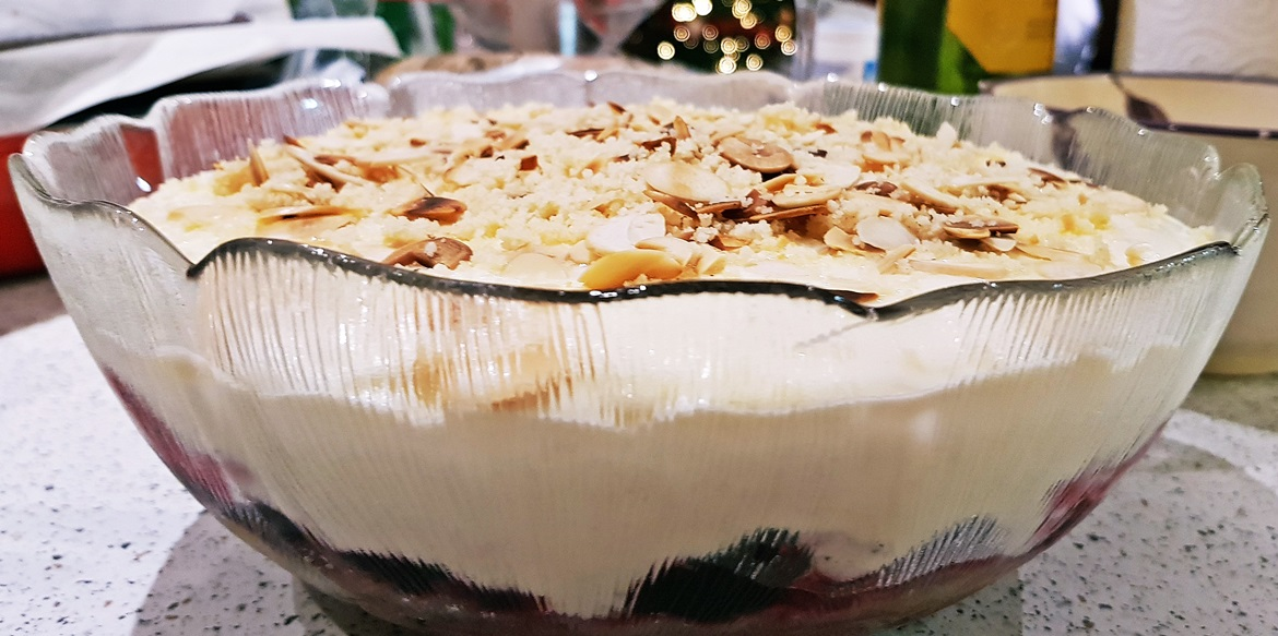 Anglo-Italian trifle - December Monthly Recap by BeckyBecky Blogs