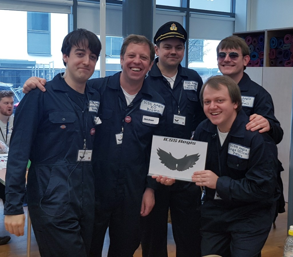 The Aegis Team - Den of Wolves megagame after action report by BeckyBecky Blogs