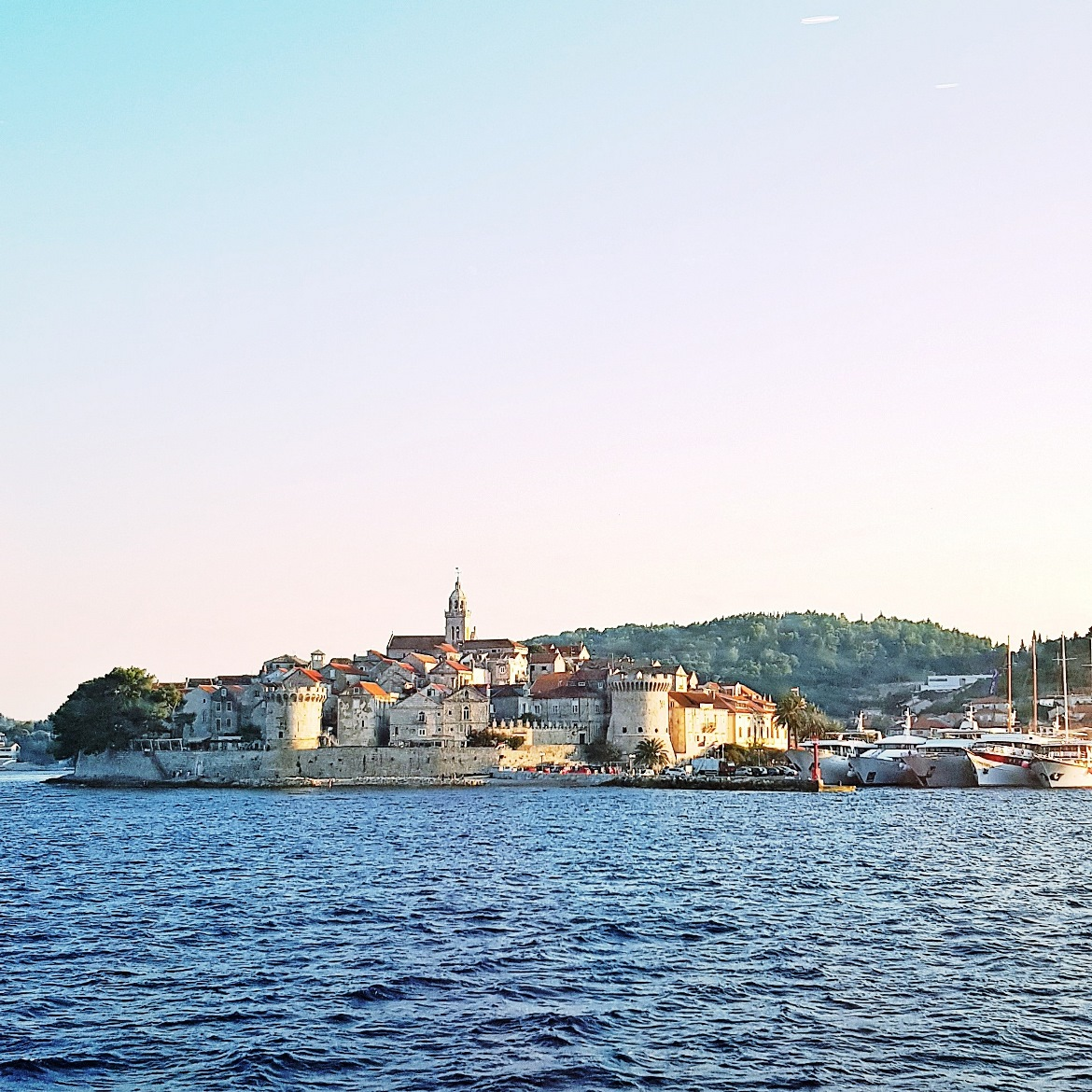 Korcula on the Dubrovnik-Split ferry - Croatia in Photographs by BeckyBecky Blogs