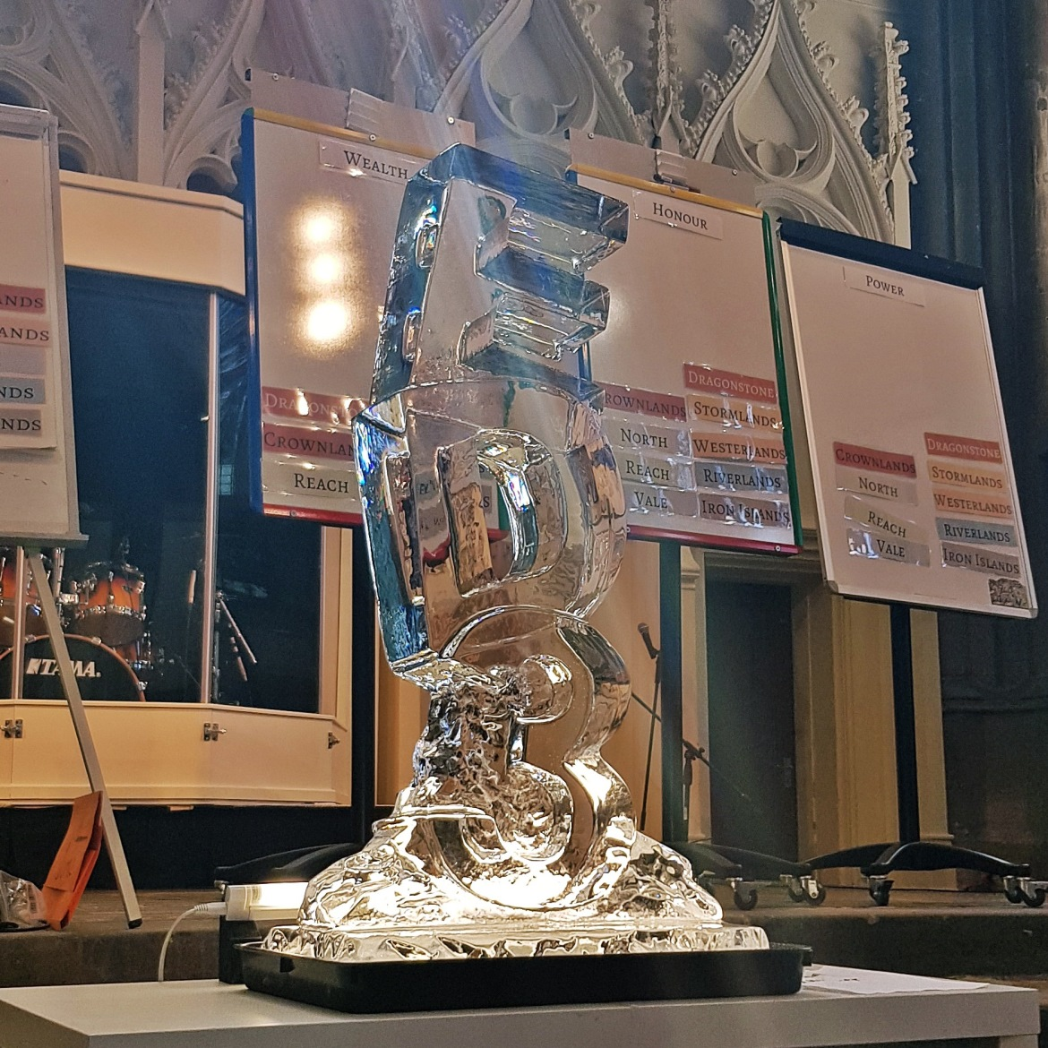 Ice Sculpture - Goodbye Everybody Dies the Megagame by BeckyBecky Blogs