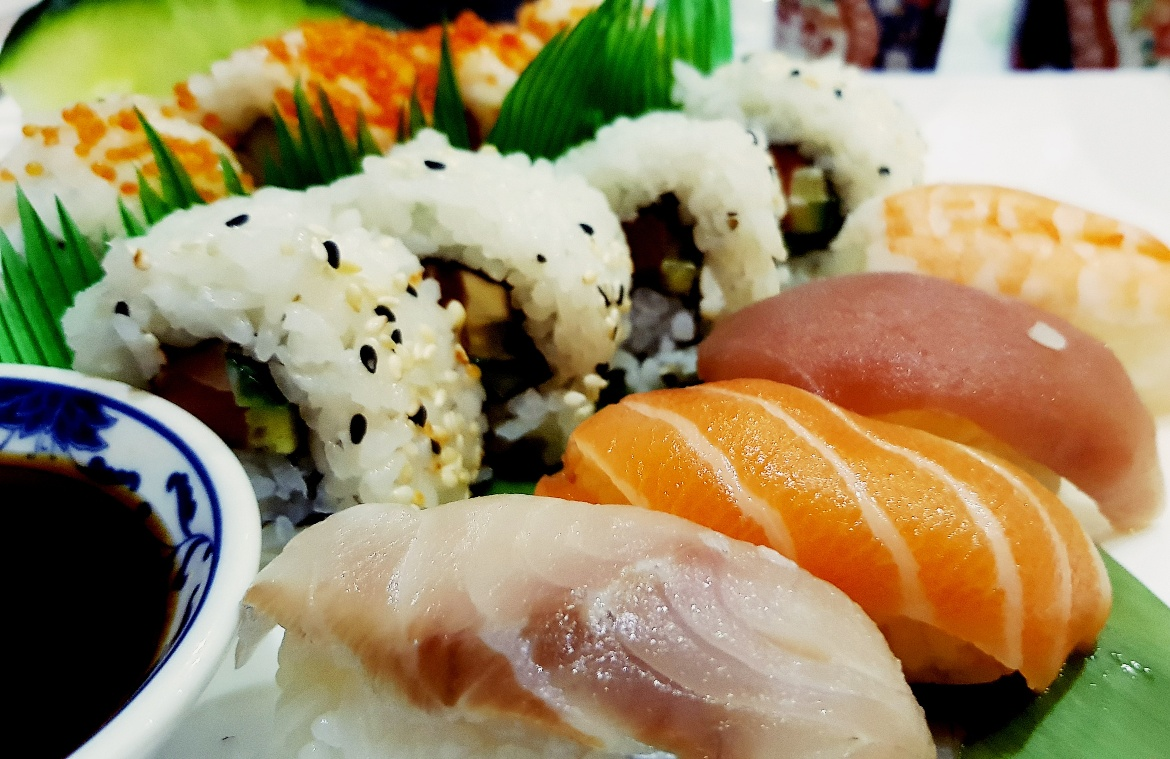 Sushi at Katana in Spalding - February 2018 Monthly Recap by BeckyBecky Blogs