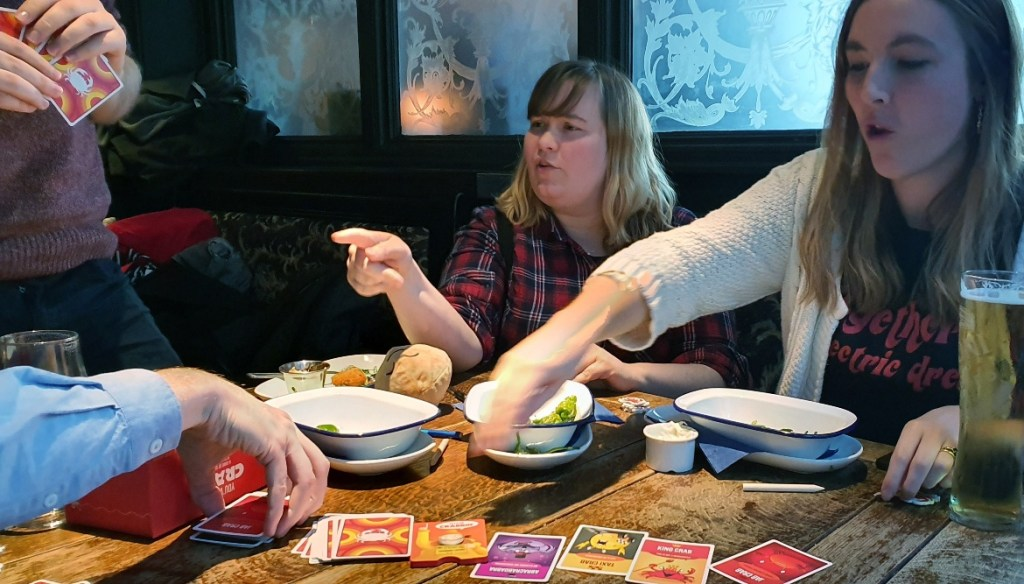Table at the Adelphi - Happy birthday feat board games and giffgaff by BeckyBecky Blogs