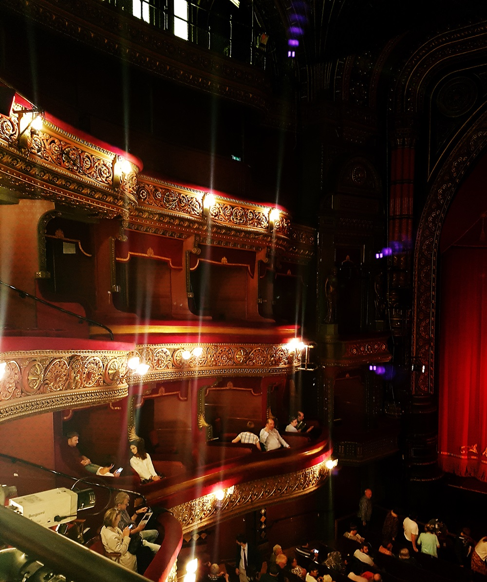 Interior at The Grand Theatre Leeds
