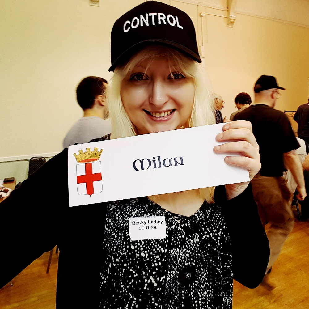 Guelphs and Ghibellines megagame Milan control