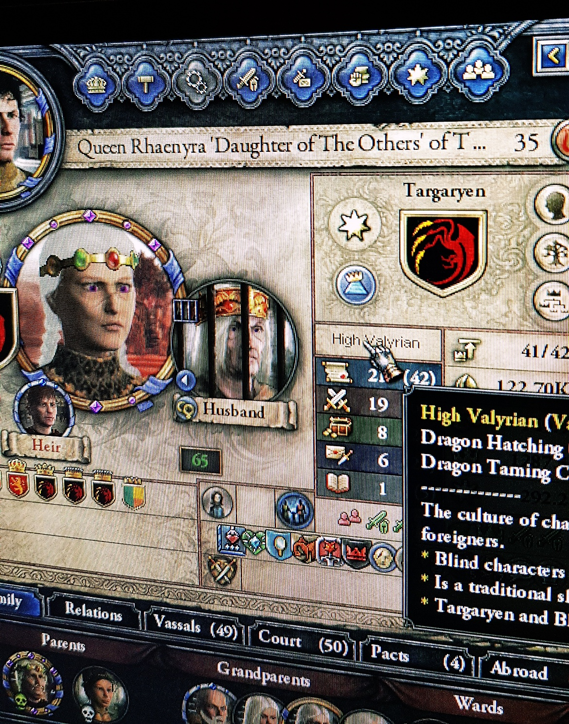 Playing the Game of Thrones mod for Crusader Kings - January 2018 Monthly Recap by BeckyBecky Blogs