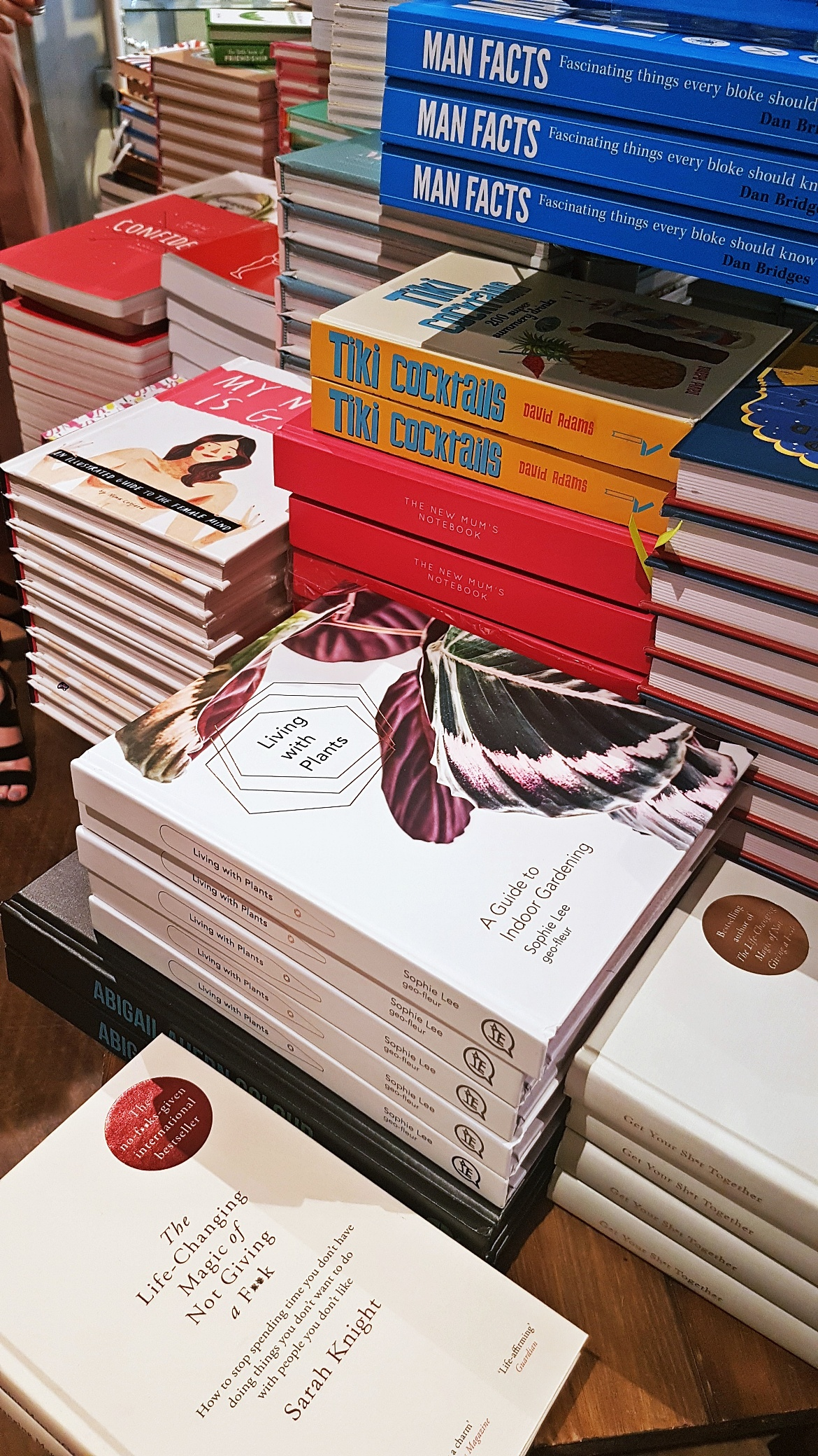 Stacks of books - Tune in with Joy the Store, Leeds shop review by BeckyBecky Blogs