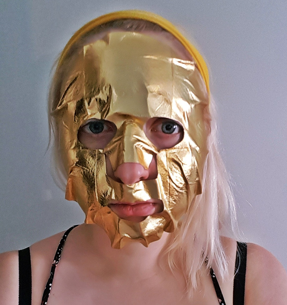 Gilt Tripper face mask by Nails Inc - Tune in with Joy the Store, Leeds shop review by BeckyBecky Blogs
