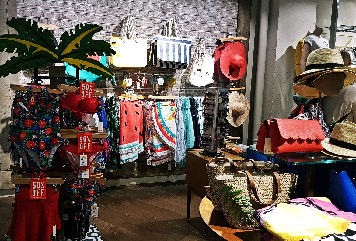 Summer items and accessories - Tune in with Joy the Store, Leeds shop review by BeckyBecky Blogs