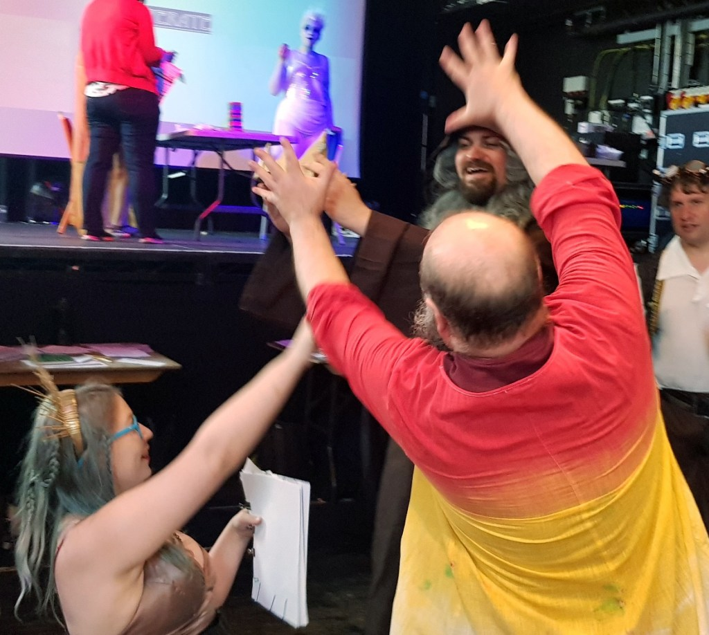 Fighting over the coronation - Kingdom of Seasons megagame report by BeckyBecky Blogs