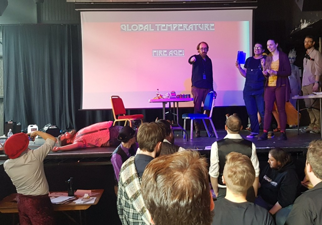 Fire Age - Kingdom of Seasons megagame report by BeckyBecky Blogs - Kingdom of Seasons megagame report by BeckyBecky Blogs
