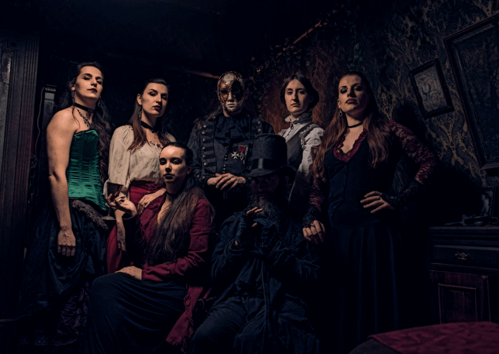 Gabriels - Lady Chastity's Reserve by Handmade Mysteries, London escape room review by BeckyBecky Blogs