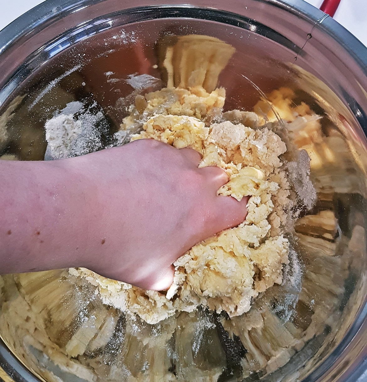 Partially kneaded pasta dough - Leeds Cookery School review by BeckyBecky Blogs
