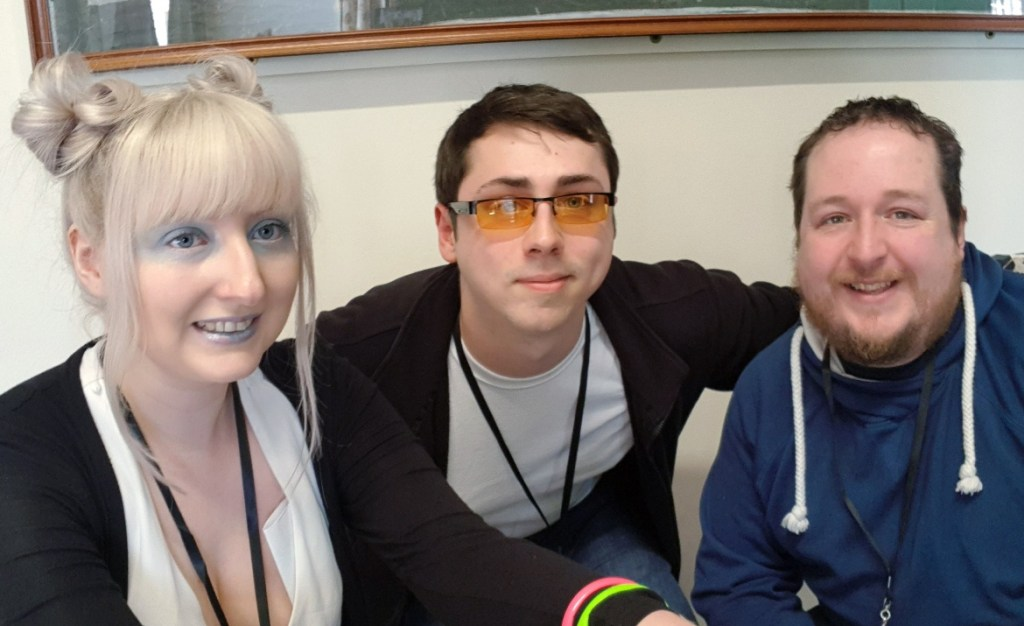 The Reticulan team - Lights in the Sky Megagame Report by BeckyBecky Blogs