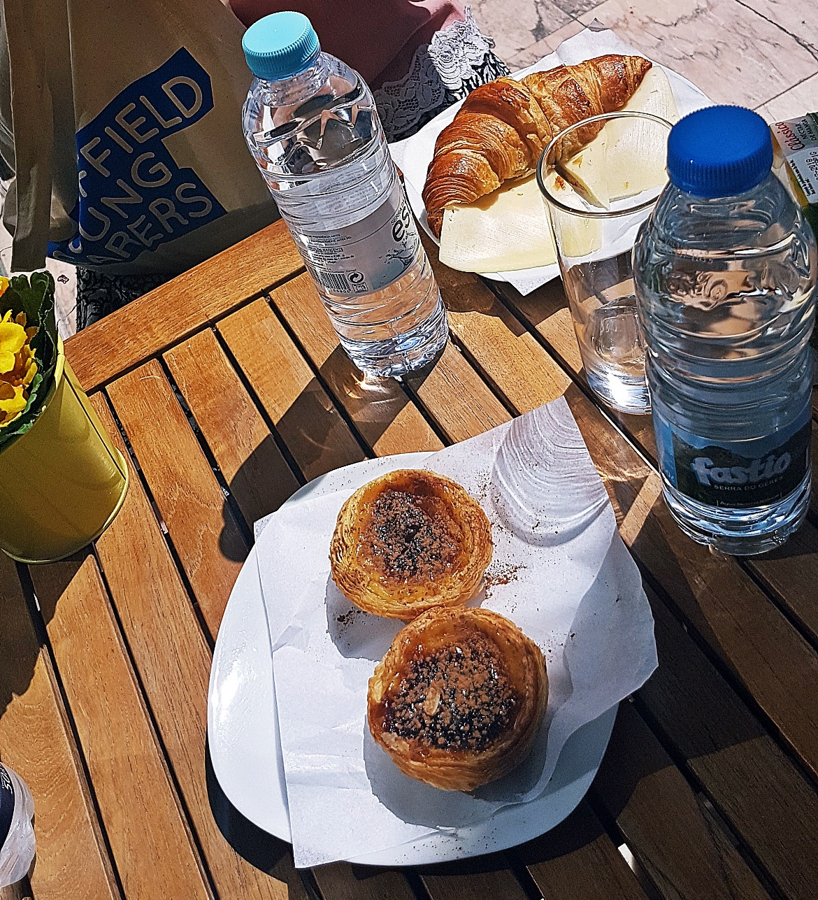 Fresh pastries at Arts Cafe - Food and Drink in Lisbon, review by BeckyBecky Blogs