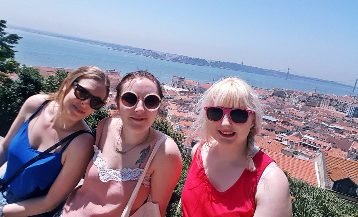 Having an amazing time in Lisbon despite not being able to see properly - One Broken Foot, Two Chronic Illnesses, and the Importance of Positivity by BeckyBecky Blogs