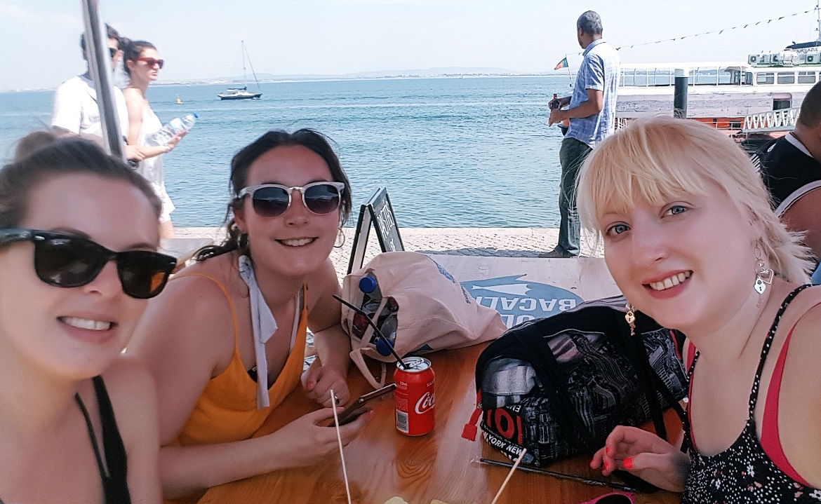 Having lunch while offered drugs - Tips for visiting Lisbon by BeckyBecky Blogs