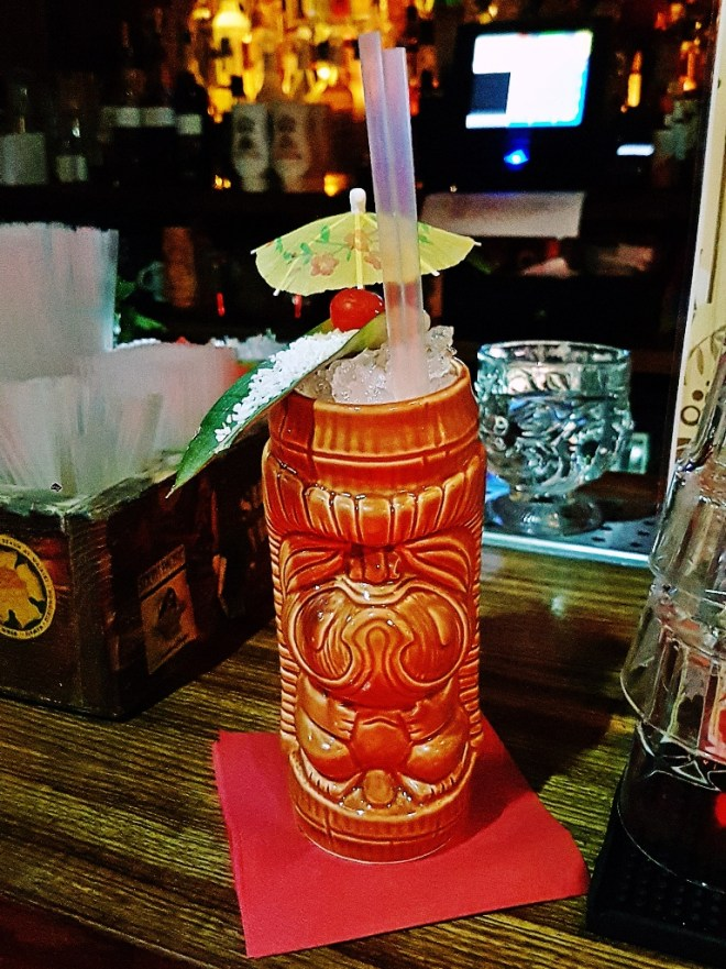Coco Cane Cocktail - Review by BeckyBecky Blogs of Mahiki Tiki Takecover at Tiki Hideaway with Leeds Loves Cocktails