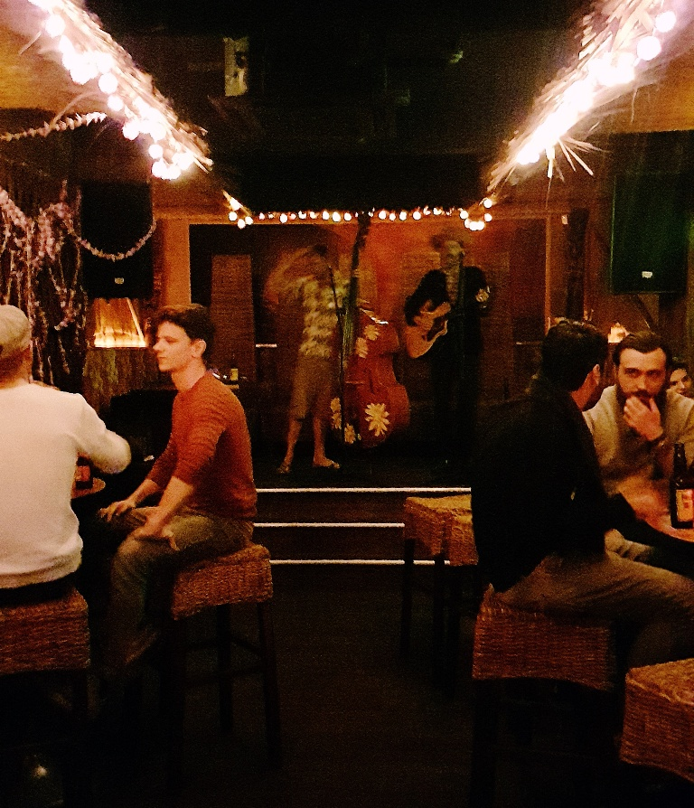 Live music - Review by BeckyBecky Blogs of Mahiki Tiki Takecover at Tiki Hideaway with Leeds Loves Cocktails