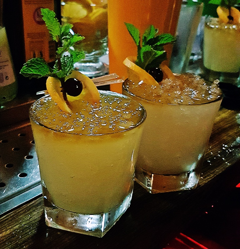 Finished Mai Tais - Review by BeckyBecky Blogs of Mahiki Tiki Takecover at Tiki Hideaway with Leeds Loves Cocktails