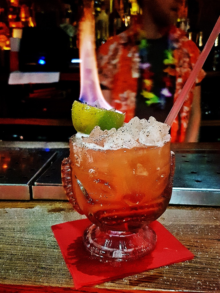 Zombie - Review by BeckyBecky Blogs of Mahiki Tiki Takecover at Tiki Hideaway with Leeds Loves Cocktails