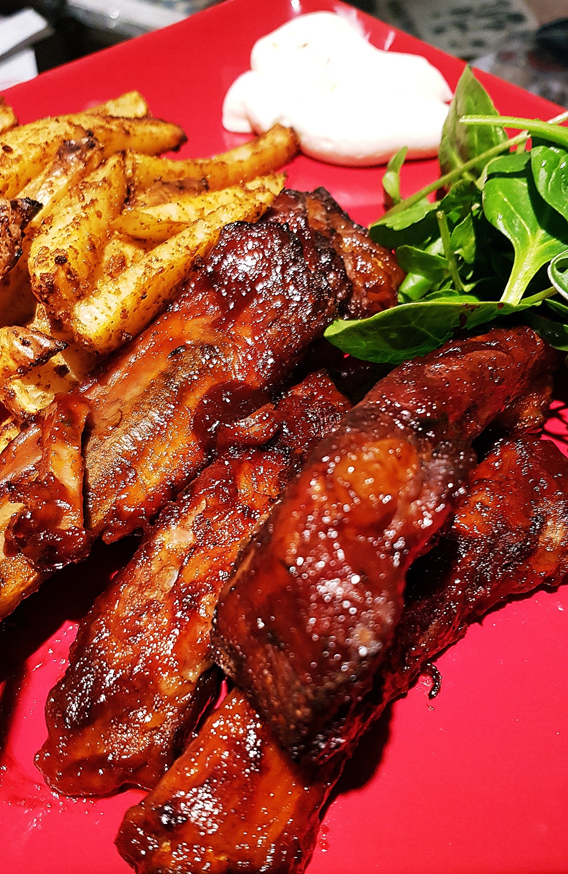BBQ ribs - March 2018 Monthly Recap by BeckyBecky Blogs