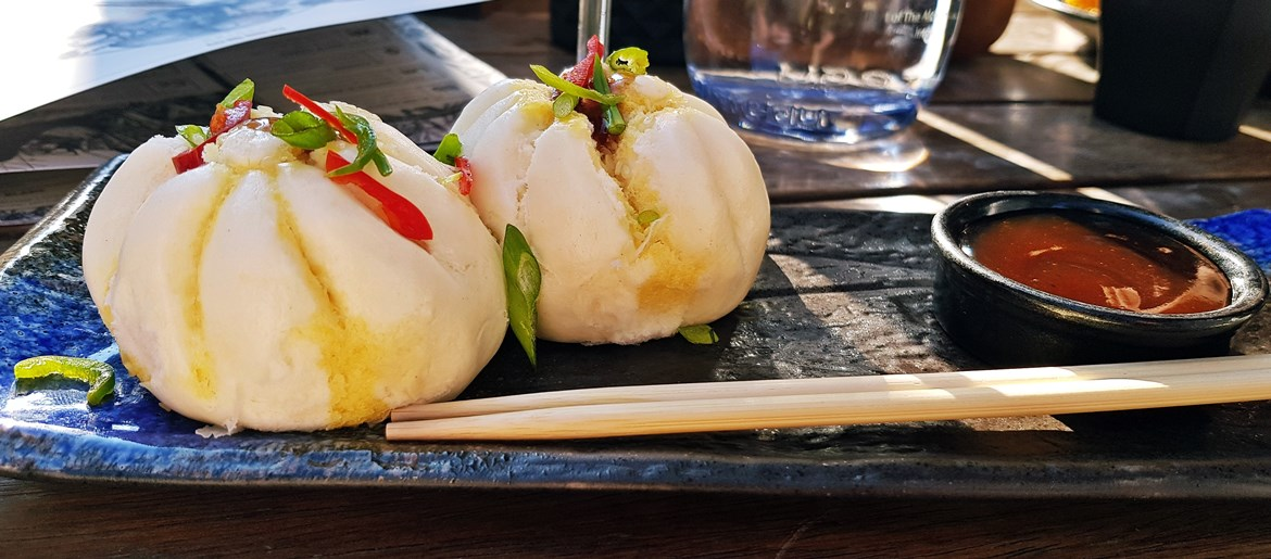 Pork steamed buns at Alchemist - May 2018 Monthly Recap by BeckyBecky Blogs