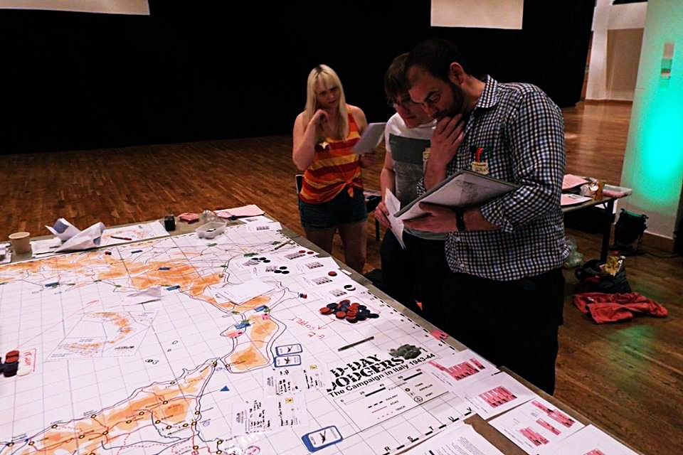 D-Day Dodgers megagame - Fifty Megagames by BeckyBecky Blogs